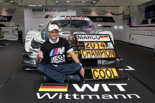 Marco Wittmann champion 2014