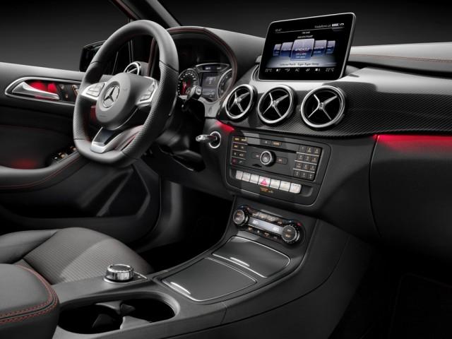 Mercedes-Benz Clasa B - interior