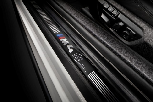 M4 DTM edition Marco Wittman interior 1