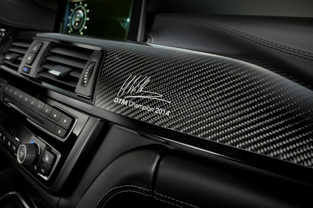 M4 DTM edition Marco Wittman interior