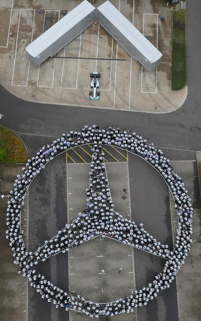 Mercedes-Benz formula 1