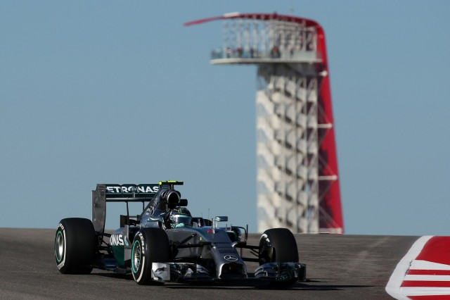 Nico Rosberg Austin