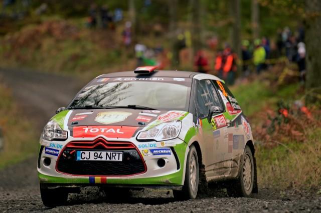 Simone Tempestini Rally Wales 2014