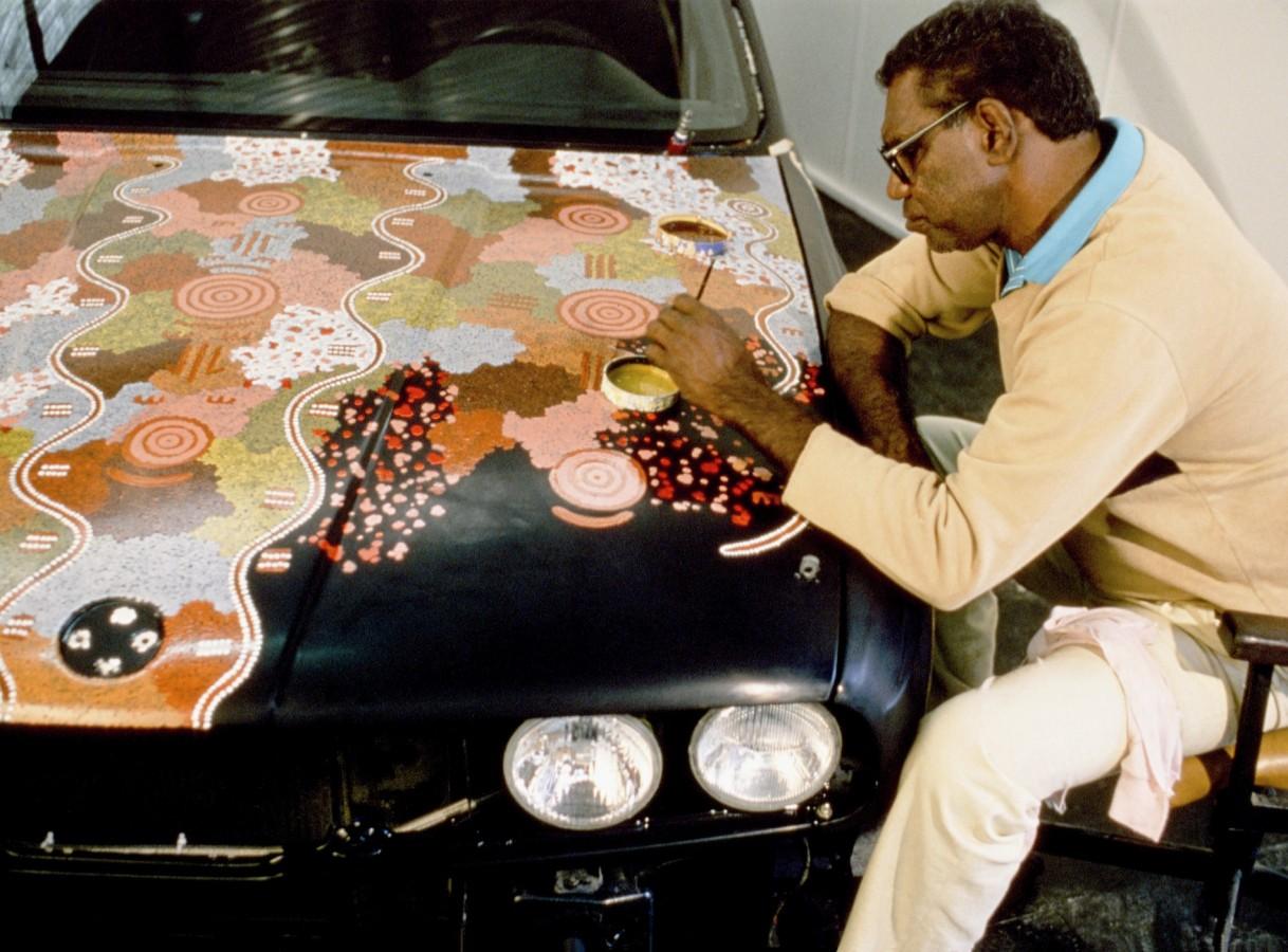 Michael Jagamara Nelson Art Car
