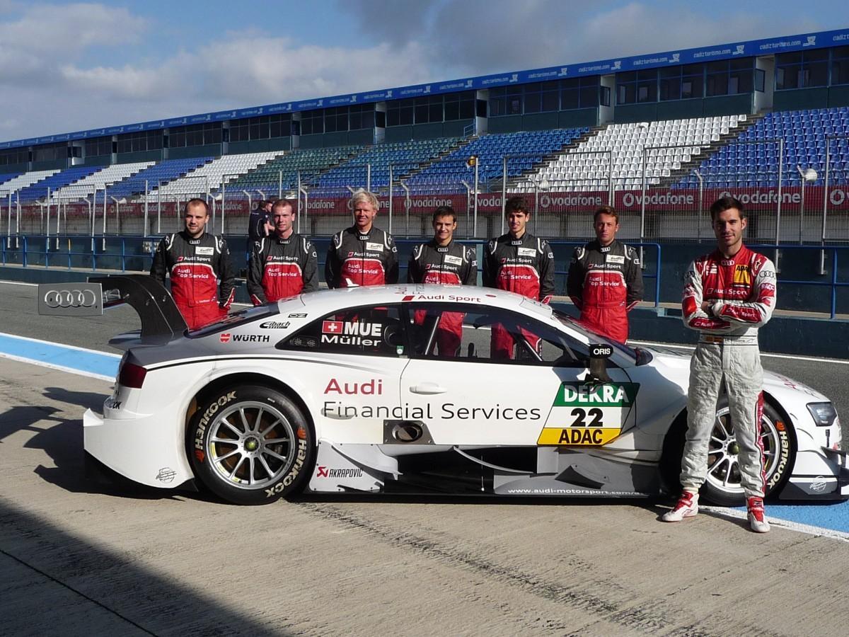 Teste Audi Jerez 2014
