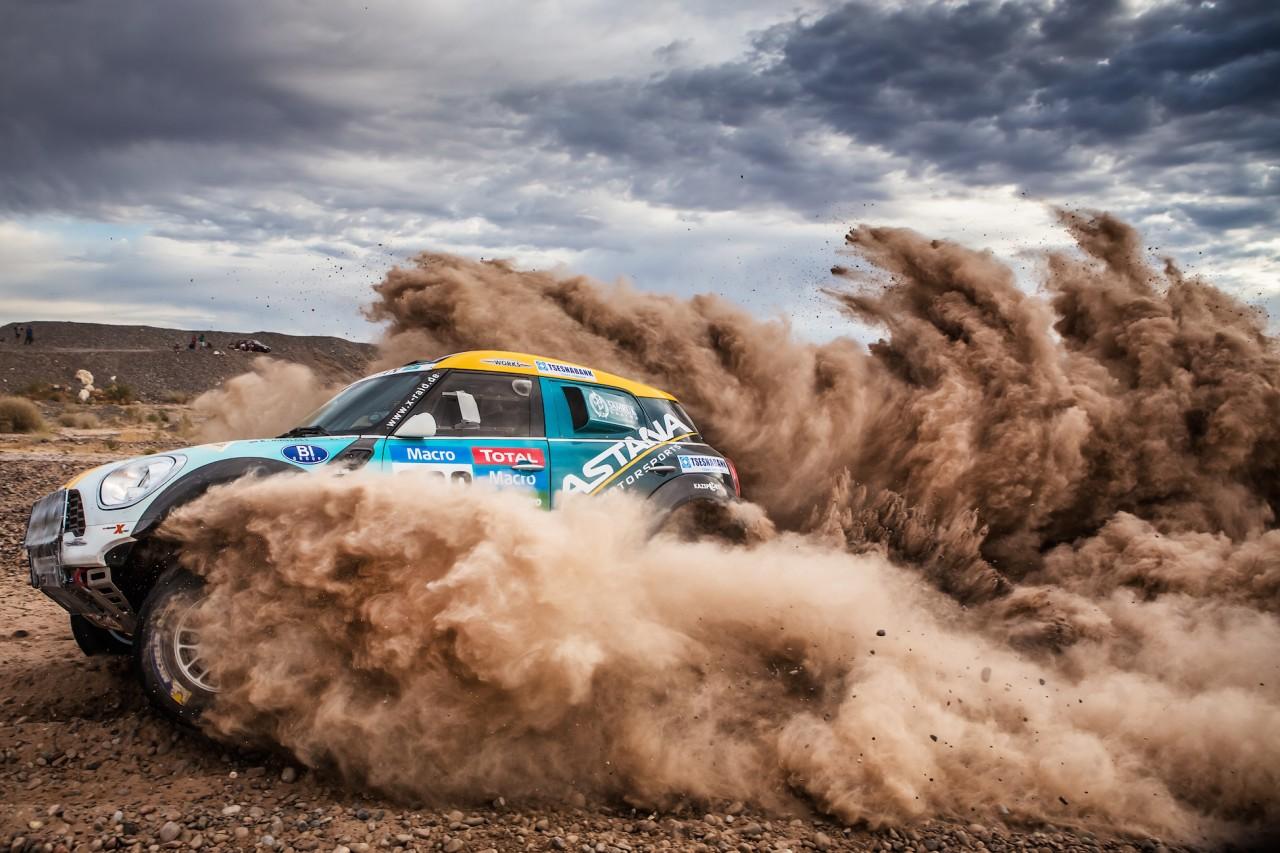 Dakar 2015 MINI