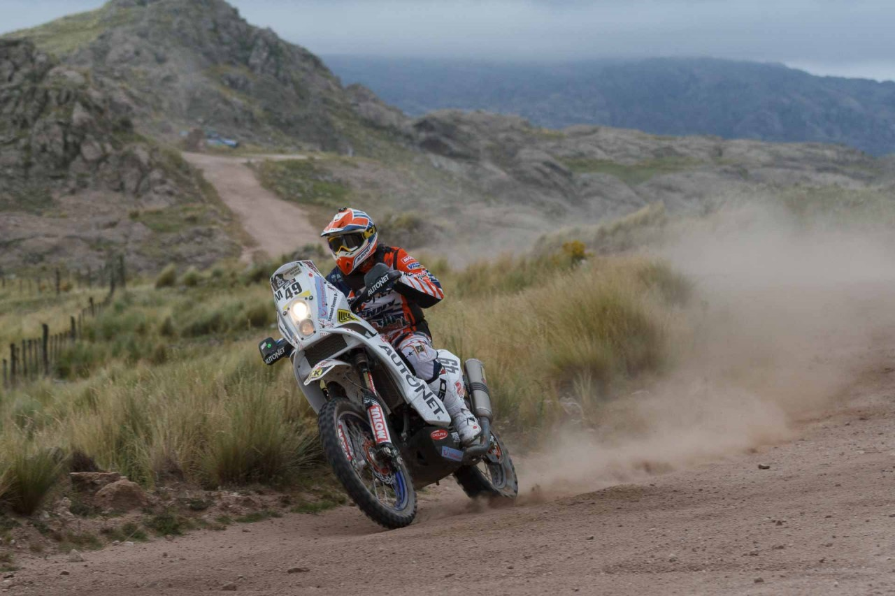 Mani Gyenes Dakar 2015 Argentina