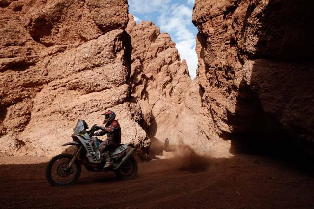 Mani Gyenes Dakar 2015 PS11