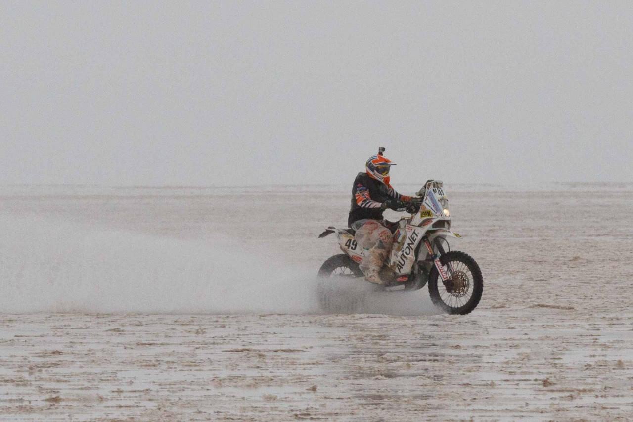 Mani Gyenes Dakar 2015