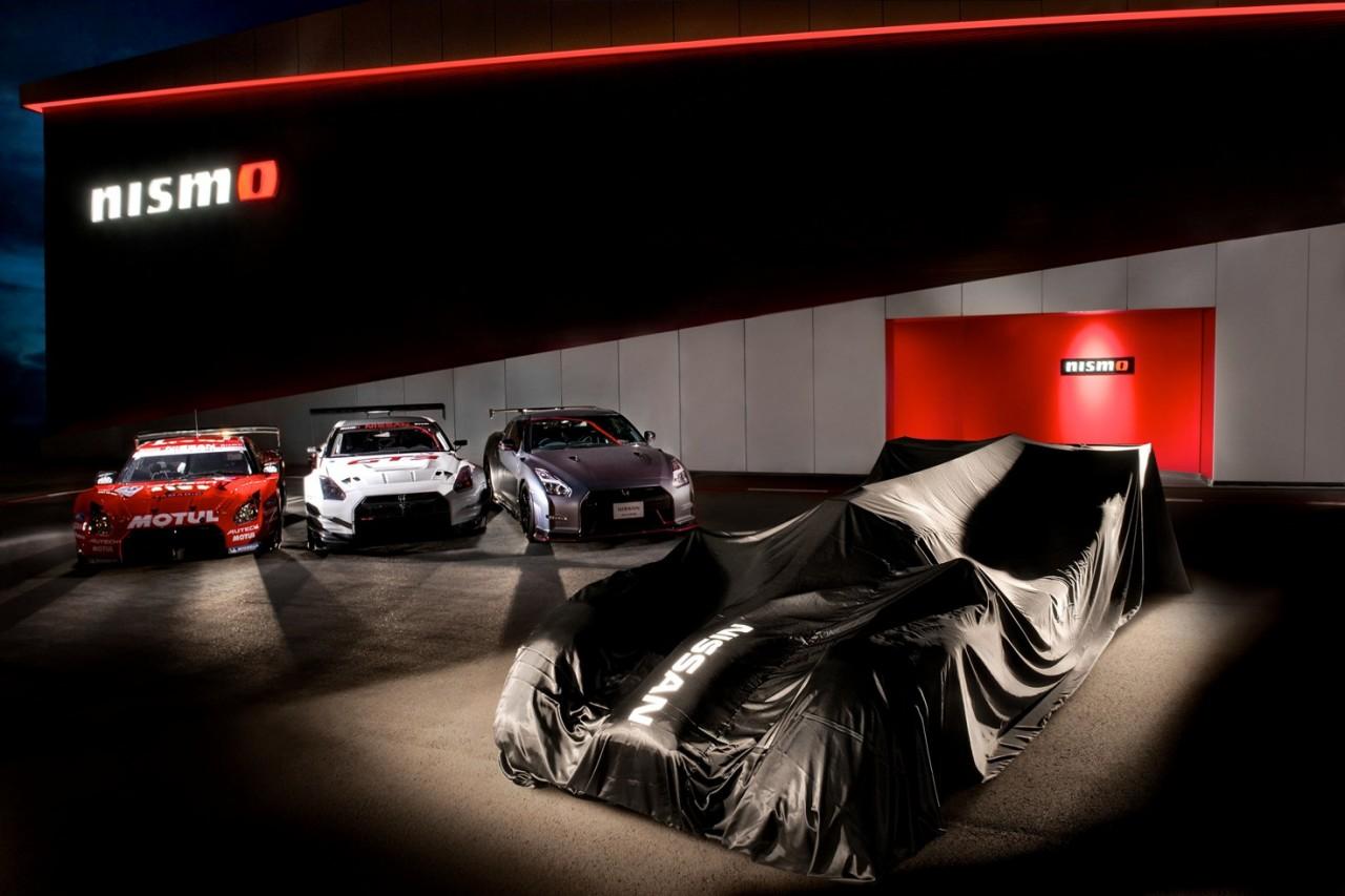 Nissan LMP 1 teaser