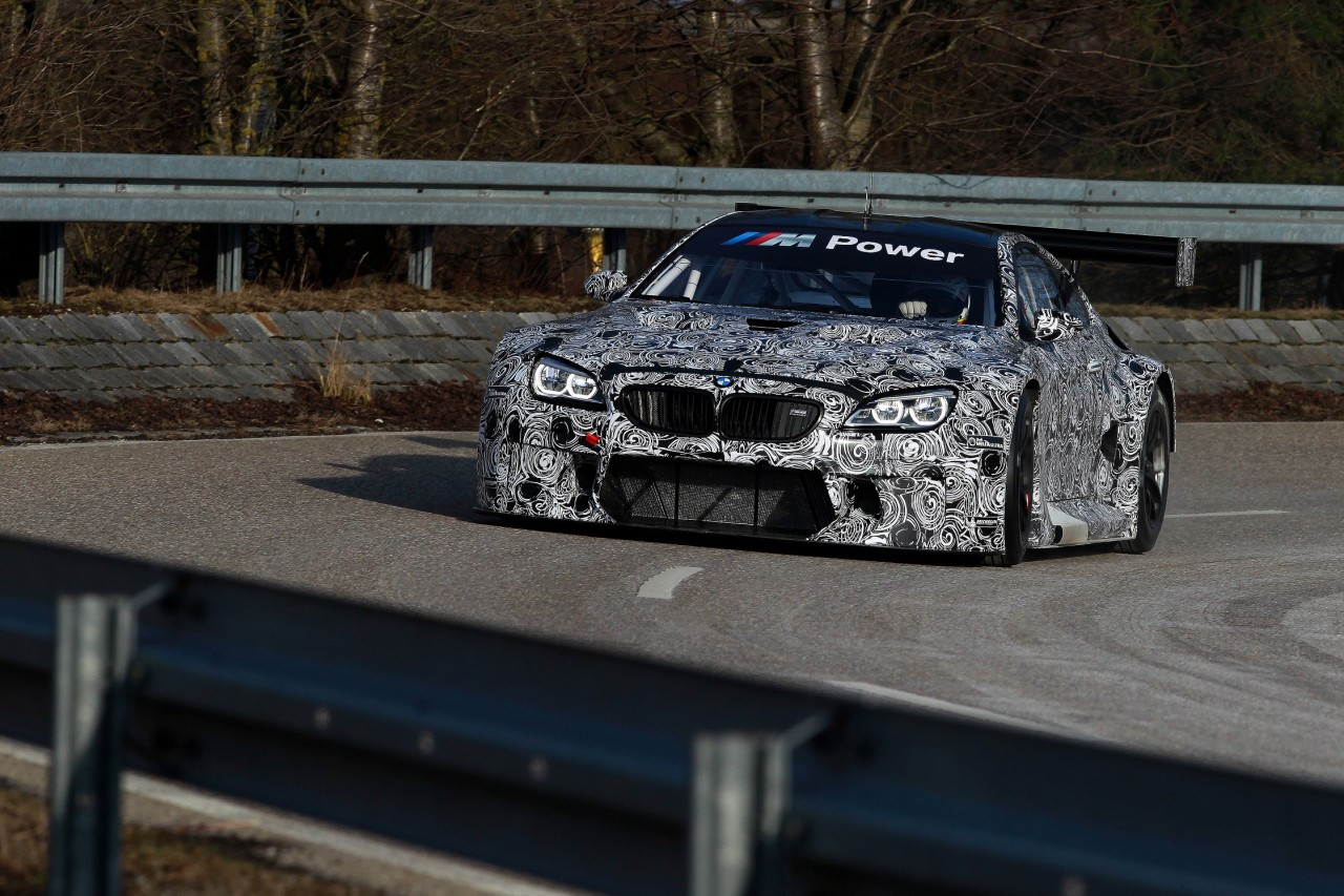 Dingolfing (DE) 31th January 2015. BMW Motorsport, BMW M6 GT3 Roll Out. This image is copyright free for editorial use © BMW AG (01/2015).