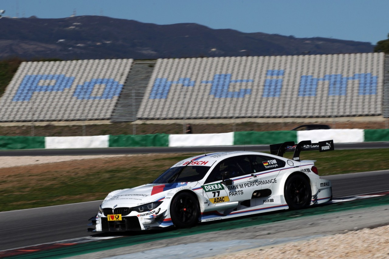 Portimao (PT) 02th March 2015. BMW Motorsport, Martin Tomczyk (DE) BMW M Performance Parts M4 DTM. This image is copyright free for editorial use © BMW AG (103/2015).