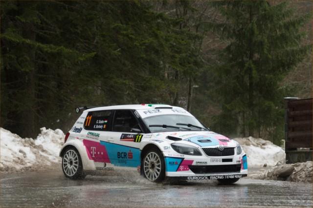 Gergo Szabo_Karoly Borbely_Skoda Fabia S2000_Tess Rally 2015