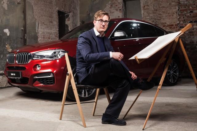 Tommy Forsgren, designerul exterior al BMW X6