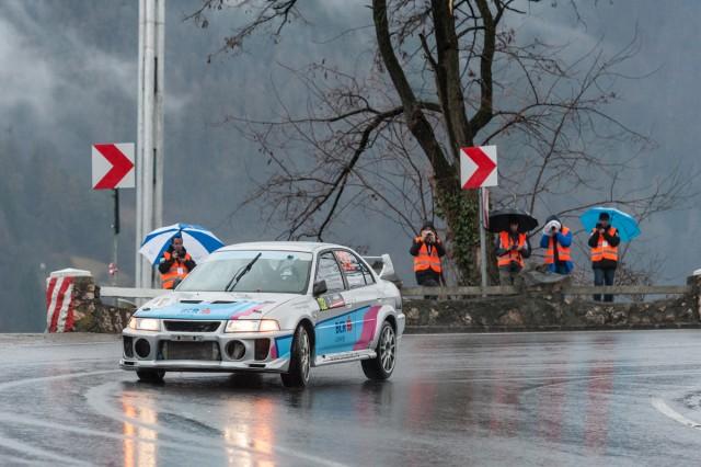 Thomas Abraham_Rares Silasi_Mitsubishi Lancer Evo6_Tess Rally