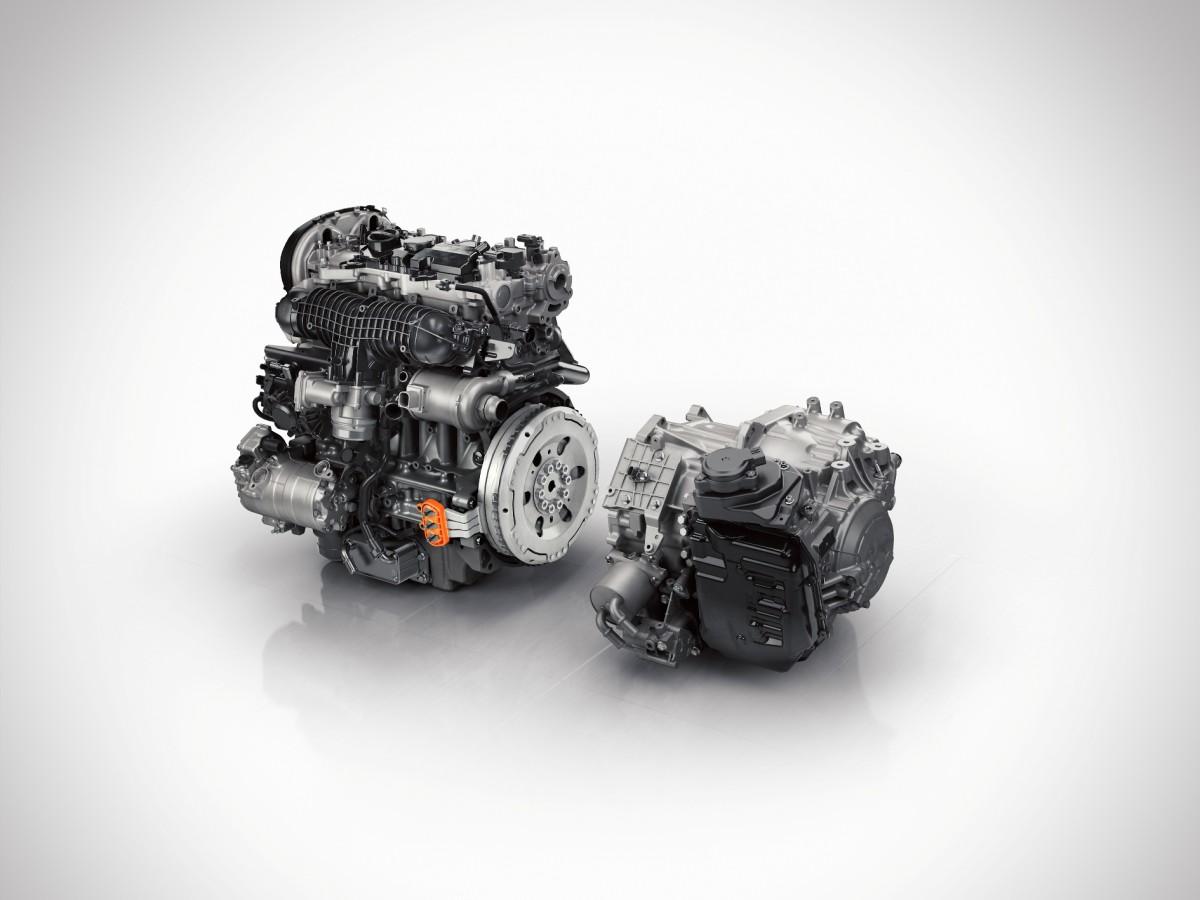 176 Petrol engine with crank ISG