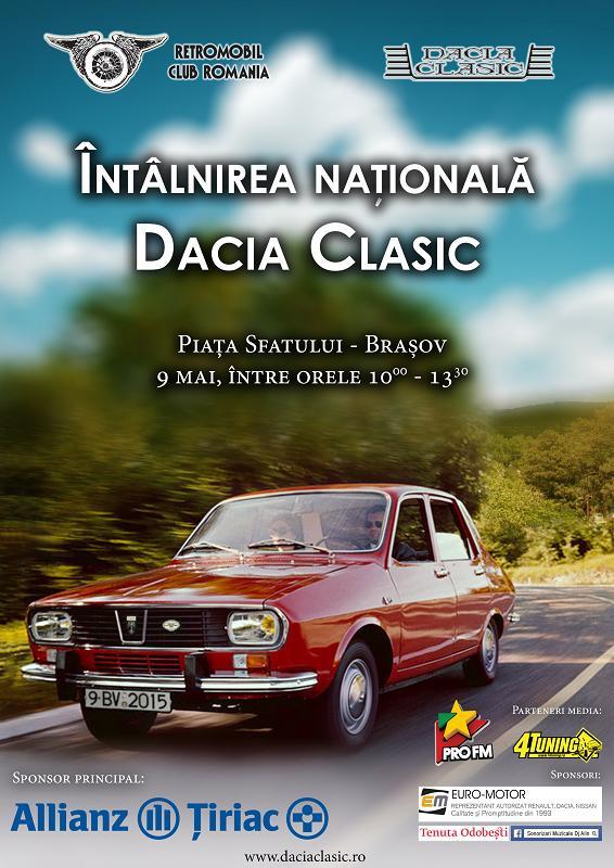 Afis Dacia Clasic 2015