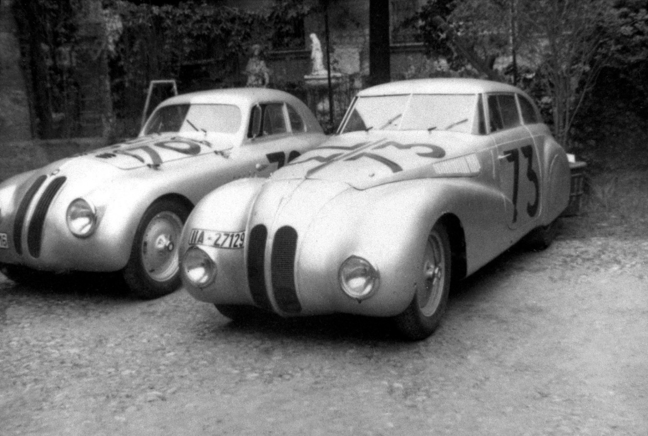 BMW 328 Touring Coupe & Kamm Coupe