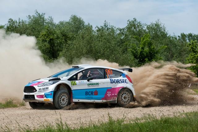 Edwin Keleti_Botond Csomortani_Ford Fiesta R5_Arad Rally 2015