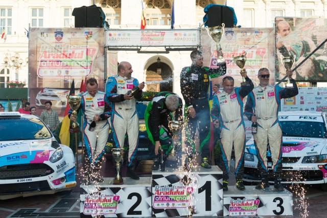 Podium General FIA_Arad Rally 2015
