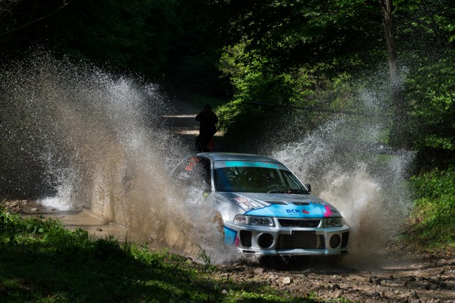 Thomas Abraham_Rares_Silasi_Mitsubishi Lancer Evo 5_Arad Rally 2015