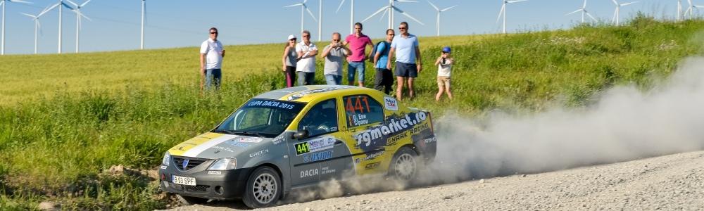 Victorie in Cupa Dacia - Debutanti pentru Gabriel ENE si Ciprian SOLOMON la Danube Delta Rally