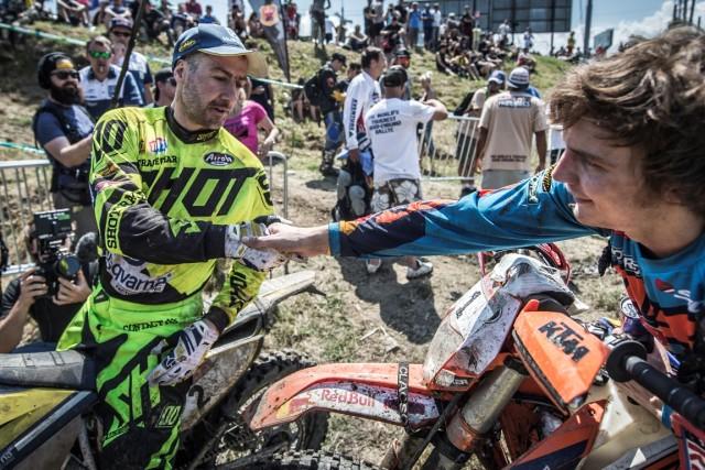 Graham Jarvis si Jonny Walker foto: Predrag Vuckovic