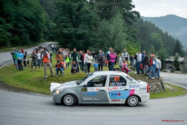 Adrian Teslovan_Vajk Cseh Imre_Dacia Logan Cup_Sibiu Rally Challenge 2015