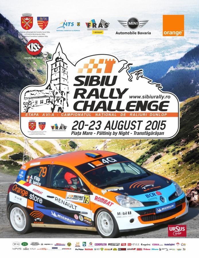 Afis Sibiu Rally Challenge 2015