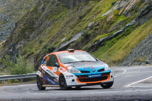 Alex Filip_Bogdan Iancu_Renault Clio R3 Maxi Evo_Sibiu Rally Challenge 2015