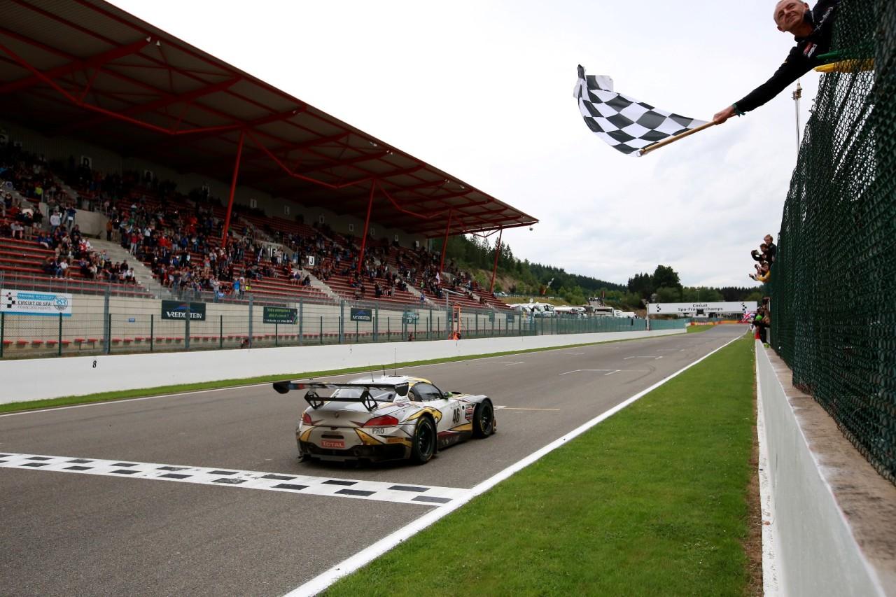 BMW Z4 GT3 Spa 2