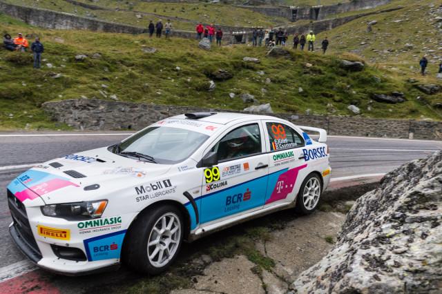 Edwin Keleti_Botond Csomortani_Mitsubishi Lancer Evo X_Sibiu Rally Challenge 2015