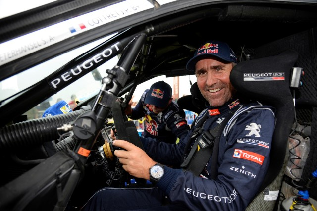 PETERHANSEL Stephane (Fra) Peugeot ambiance during the Dakar 2015 Argentina Bolivia Chile, Stage 13 Finish and Podium /  Etape 13, Rosario to Buenos Aires on January 17th 2015 at Rosario, Argentina. Photo Eric Vargiolu / DPPI