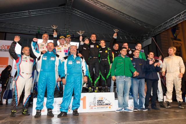 Podium echipe_Sibiu Rally 2015