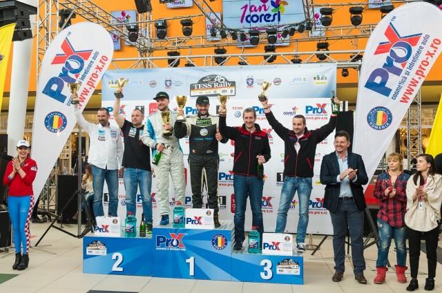 Podium 2RM-Tess Rally BV 2016